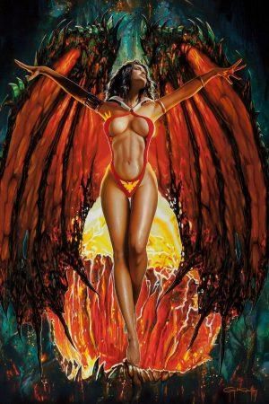 Illustration | Vampirella by Gennadiy Koufay
