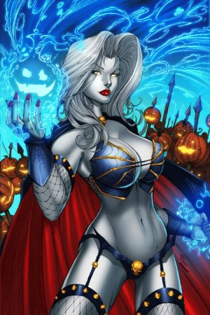 Vampires | Lady Death by DeBalfo colors by SplashCo...