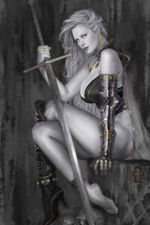Illustration | Lady Death by Svenechoff