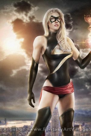 Mei Lauviah (Maryneim) – Ms Marvel