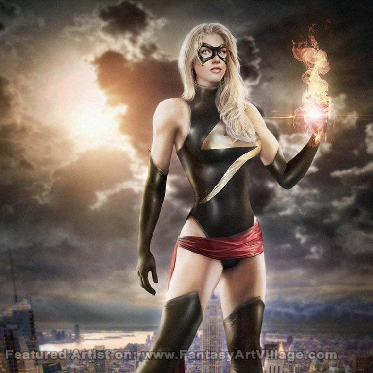 Mei Lauviah (Maryneim) – Ms Marvel