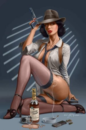 Pin Up Girls | Noir by Nigel Hendrickson