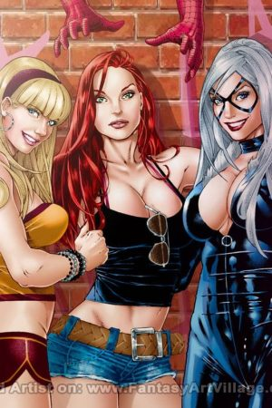Paulo Siqueira – Girls of the Spiderman