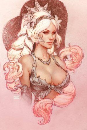 SMITE Aphrodite by #Scebiqu