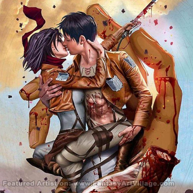 Attack on Titan by Greg Horn