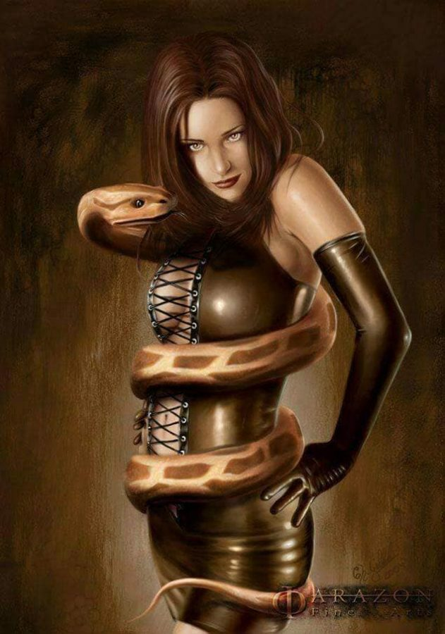 Mistress of the Snake II by Christian Goebbels