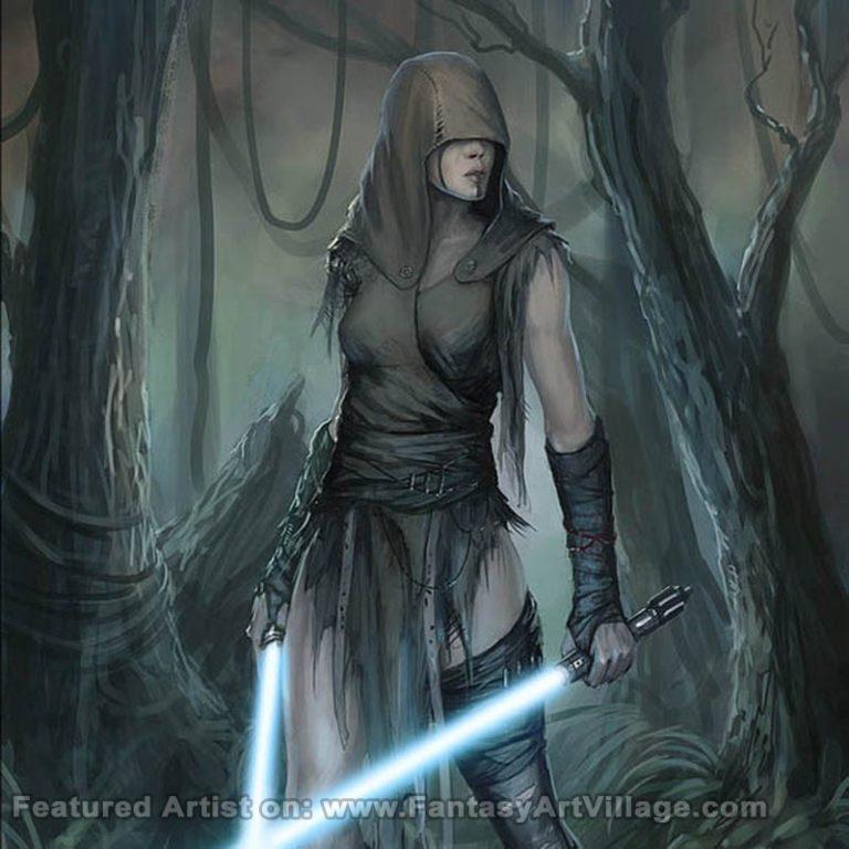 Peter Ortiz – Miraluka Jedi