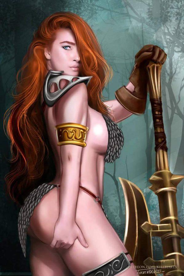 Red Sonja by killbiro