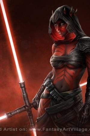 Sister of Darth Maul by Istvan Danyi