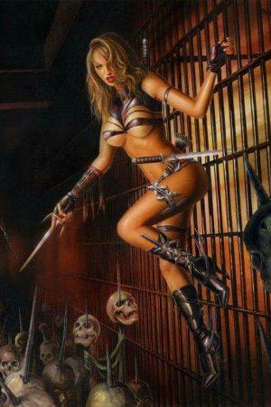 Illustration | The Cage  by  Lorenzo Sperlonga