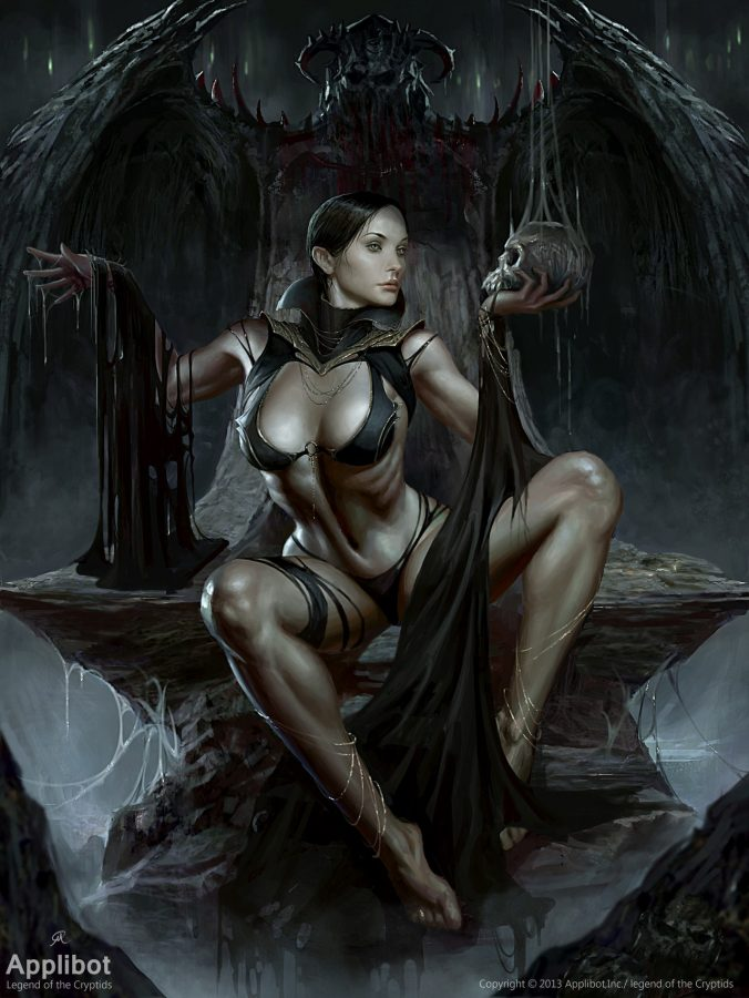 The Queen of Hell 1 by Changming Xu