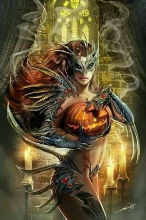 Illustration | Witchblade Halloween variant by Nebezial