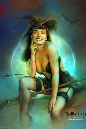 Bettie Page: Spellbound by Shannon Maer
