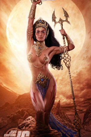 Illustration | Dejah Thoris: Princess of Mars by Jeffac...