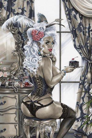 Let Them Eat Cake by Kromespawn