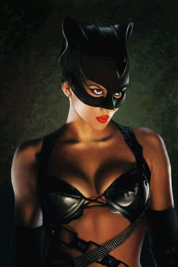 Catwoman by #MishaART