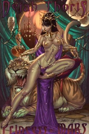 Fantasy Sexy Art | Dejah Thoris by ToolKitten