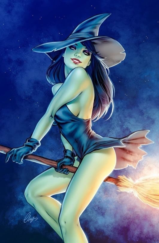 Happy Witch by Elias Chatzoudis