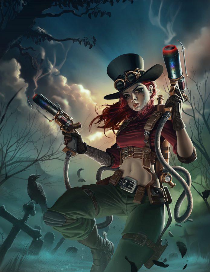 Steampunk Warrior by Sanjay Charlton