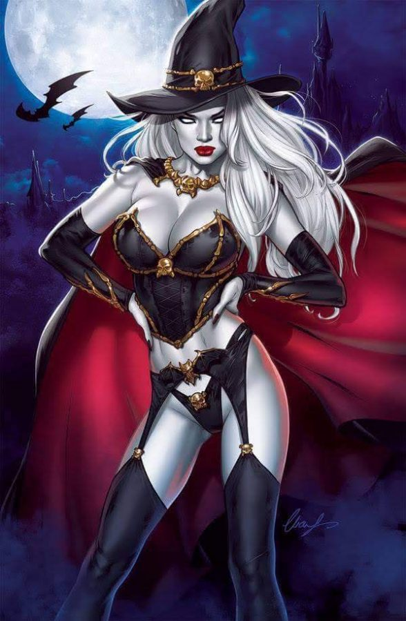 Lady Death Cover by by Elias-Chatzoudis