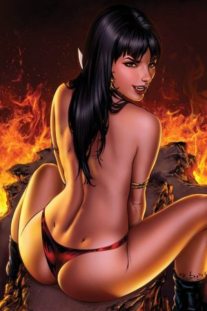 Vampires | Vampirella 1 Color Low by Ebas