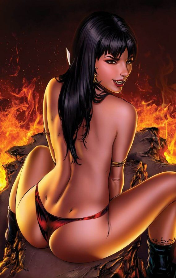 Vampirella 1 Color Low by Ebas