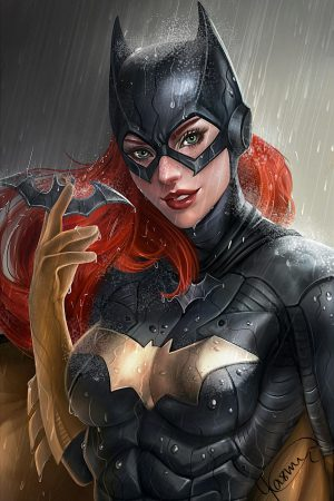 Batgirl by Yasmine Arts