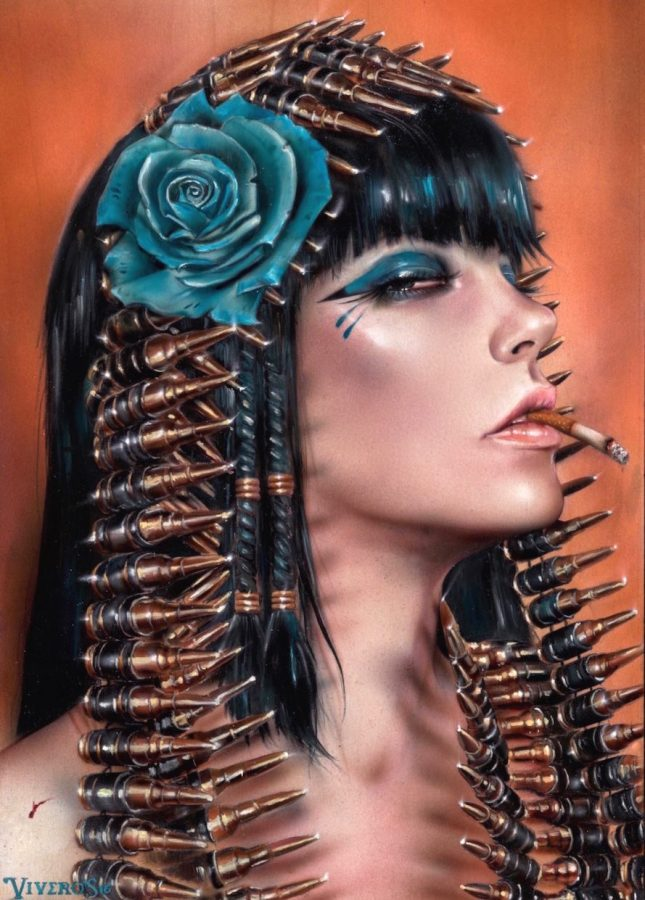 Cleopatra Forever by Brian M. Viveros