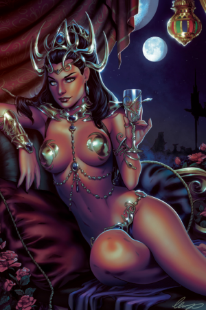 Illustration | Dejah Thoris 3rd version by Elias Chatzo...