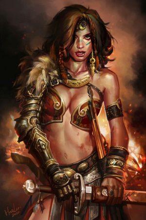 Goddess of War by soundbeing