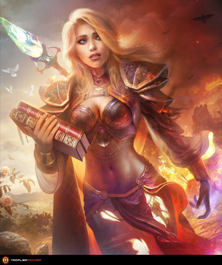 Jaina – The Shattered Soul by TamplierPainter