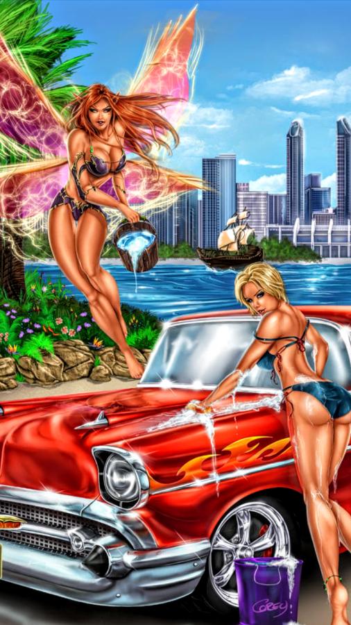 Neverland Autowash by Ray Artz