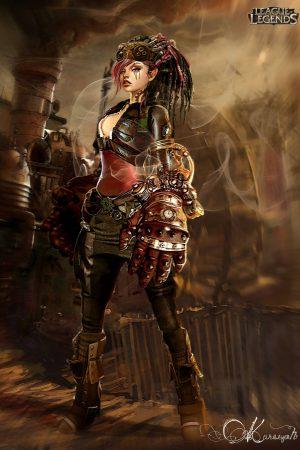 Sci-Fi / Steampunk | Victorian Vi by Kureiyah - League of Leg...
