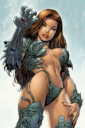 Witchblade by Mark Silvestri