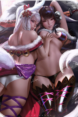 Anime / Manga / Cartoon | Yuel and Societte by Zumi