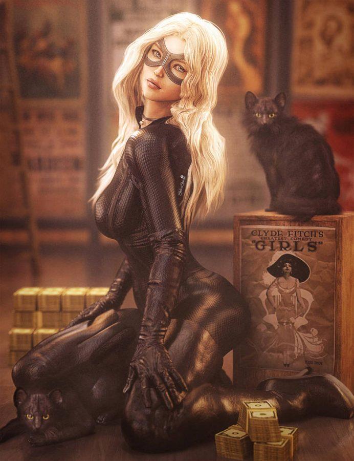 Black Cats by Shibashake