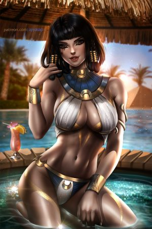 Fantasy Sexy Art | Pharah by AyyaSAP