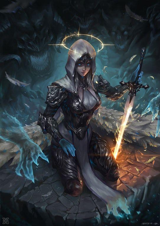 dark angel by mist XG : ImaginaryCharacters
