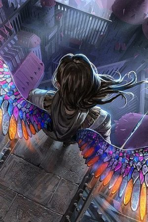 Illustration | Glass Wings  by Johannes Voss