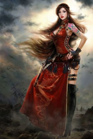 "Warriors / Pirates | Beautiful pirate ""qing"" by RuoxinZha..."