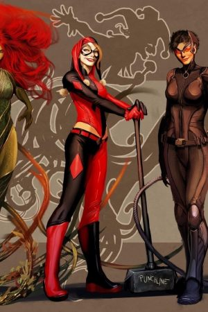 Gotham City Sirens by Stjepan Sejic
