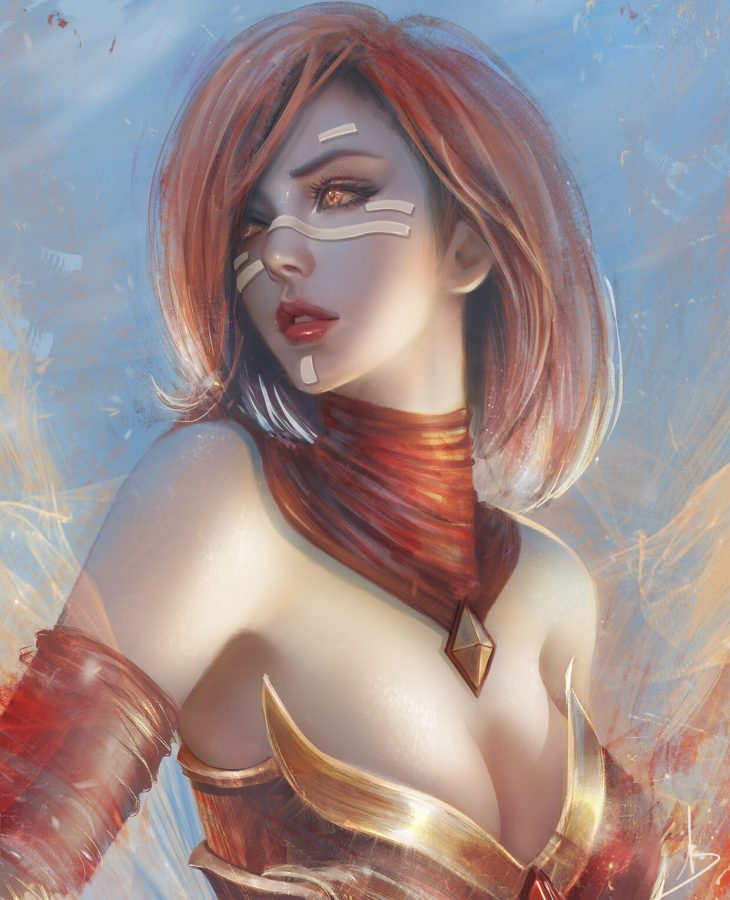 Lina Inverse by Trung Bui