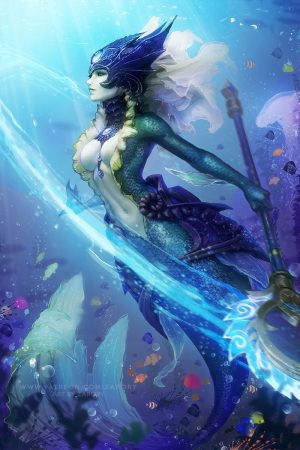Nami the Tidecaller by Zarory