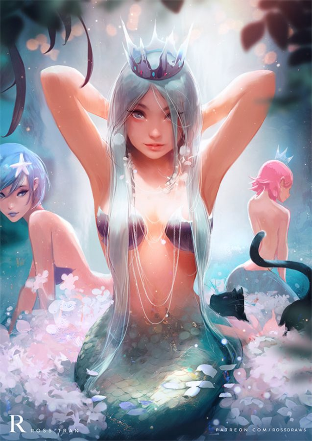 Artwork by RossDraws
