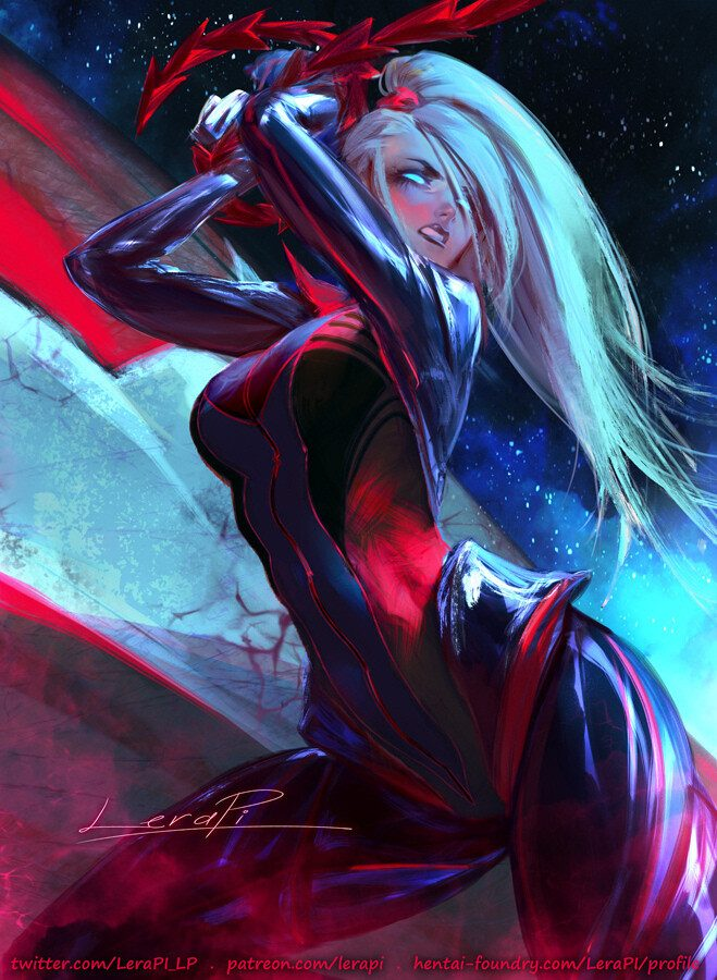 Dark Samus' zero suit by LeraPi