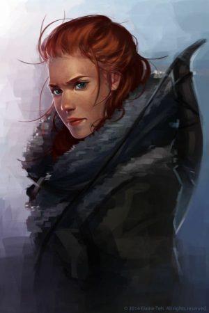 Fantasy Sexy Art | Ygritte by Elaine Teh