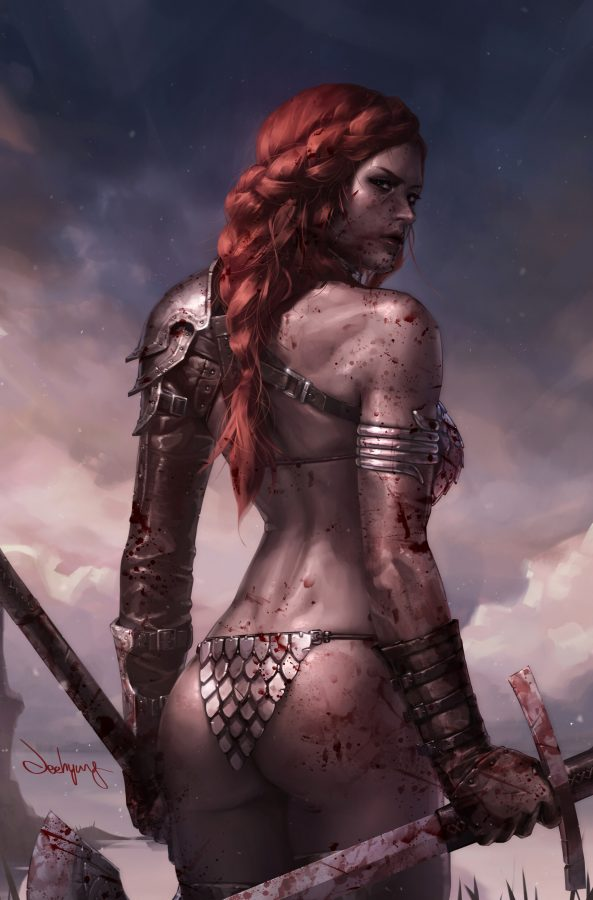 Red Sonja by #JeehyungLee