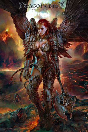 Fantasy Sexy Art | Angel of Destruction by Pablo Fernandez