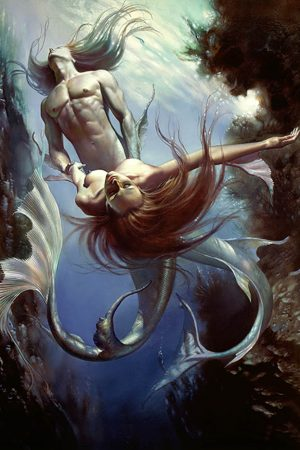 Artwork by Boris Vallejo