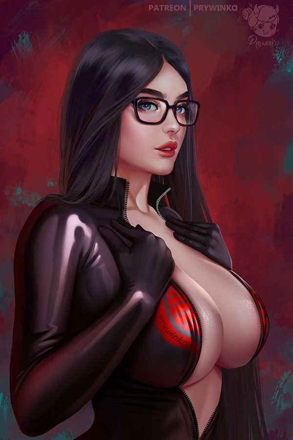 Baroness GI Joe by #Prywinko